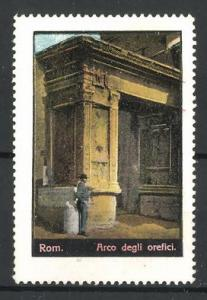 Reklamemarke Rom, Arco degli orefici