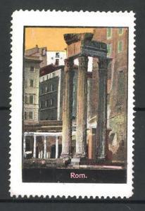 Reklamemarke Rom, Ansicht einer Säule