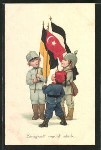 AK Kinder als Soldaten, Deutschland und Türkei