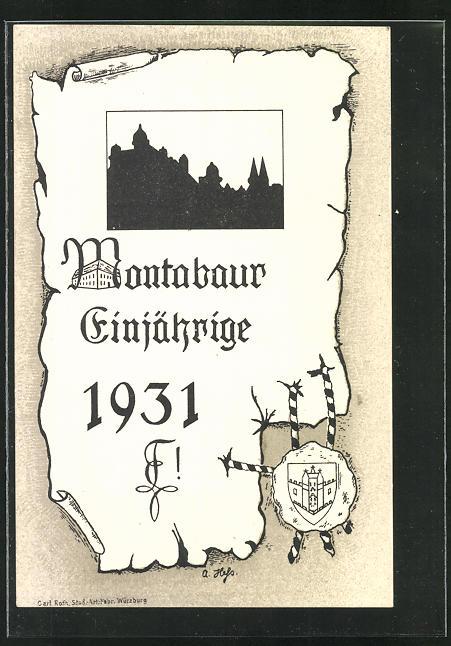 AK Montabaur, Absolvia 1931 0