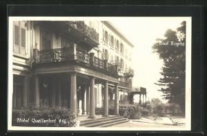 AK Bad Ragaz, Hotel Quellenhof
