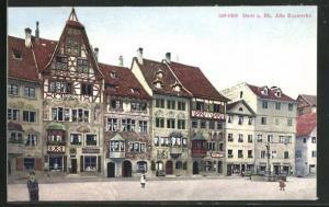 AK Stein a. Rh., Alte Bauwerke, Ortszentrum