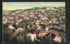 AK St. Gallen, Totale des Ortes