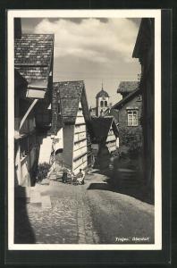 Foto-AK Trogen, Partie im Oberdorf