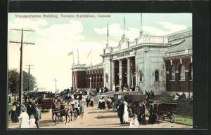 AK Toronto, Toronto Exhibition, Transportation Buildung