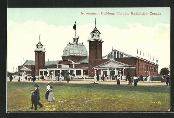 AK Toronto, Toronto Exhibition, Government Building 0