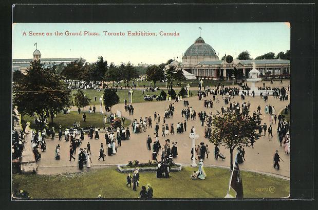 AK Toronto, Toronto Exhibition, A Scene on the Grand Plaza 0