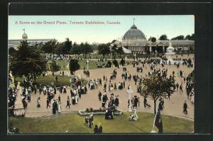 AK Toronto, Toronto Exhibition, A Scene on the Grand Plaza