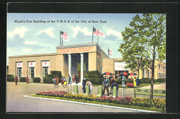 AK New York, World`s Fair, Building of the Y M C A of the City of New York 0