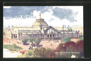 Künstler-AK Milano, Esposizione 1906, Arti Decorative Francesi