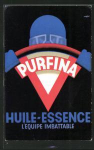 AK Tankstelle, Purfina, Huile-Essence l`Equipe Imbattable