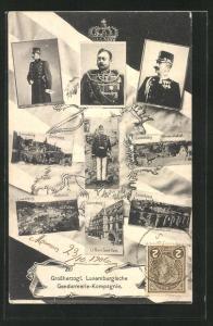 AK Grossherzog Wilhelm von Luxemburg in Uniform