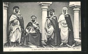 AK Le Bach-Agha Ben-Ganah et les Caids