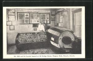 AK Ontario, Mr. Hill and his barrels, 182 Bridge Street