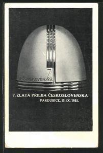 AK Pardubice, 7. Zlatá Prilba Ceskoslovenska 1935, Motorradrennen