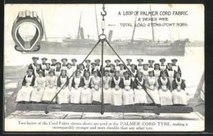 AK A Loop of Palmer Cord Fabric 2 Inches Wide, Palmer Cord Tyre