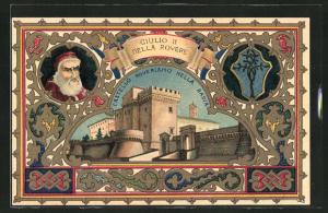 AK Giulio II. della Rovere, Castello Roveriano nella Badia