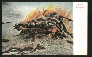 AK Hindu Cremation, Hindu-Feuerbestattung