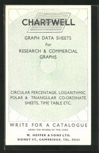 AK Reklame Chartwell Graph Data Sheets for research & commercial graphs