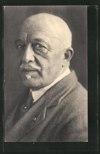 AK Porträt flämischen Schriftstellers Cyriel Buysse
