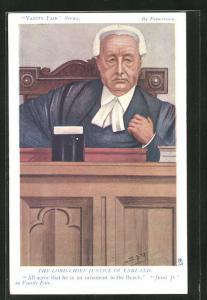AK Vanity Fair Cartoons, The Lord Chief Justice of England, Höchster Richter von England