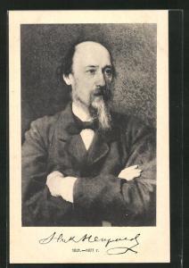 AK Nikolai Nekrassow, Portrait des Autors