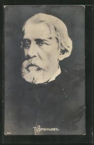 AK Turgenew, Portrait des Autors