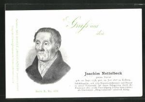 AK Portrait von Joachim Nettelbeck, 1738-1824, Befreiungskriege