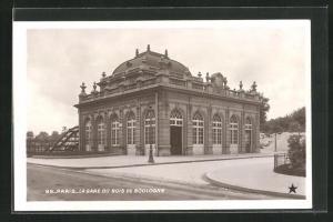 AK Paris, La Gare du Bois de Boulogne, Bahnhof