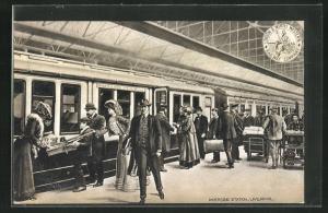 AK Liverpool, Riverside Station, Bahnhof