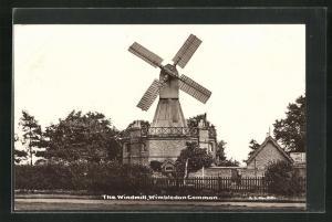 AK Wimbledon Common, The Windmill, Windmühle