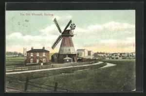 AK Barking, The Old Windmill, Windmühle