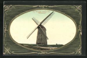 AK Birkenhead, The Windmill, Bidston Hill, Windmühle