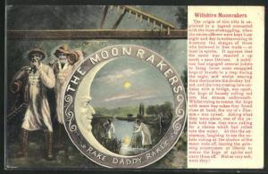 AK The Moon Rakers, Fischer angeln im Mondschein am See
