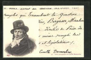 AK Einer der Führer der französischen Revolution Benoît Camille Desmoulins
