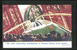 AK London, Casino, The Cinerama, The modt astounding development in Cinema history since sound