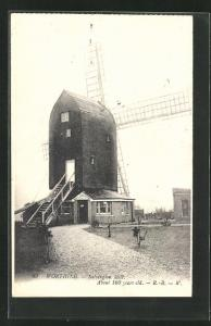 AK Worthing, Salvington Mill, about 100 years old
