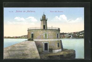 AK Palma de Mallorca, Faro del Puerto, Leuchtturm