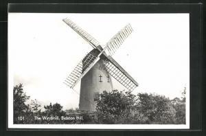 AK Bidston Hill, The Windmill, Windmühle