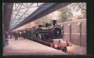 AK Marylebone, Sheffield & Manchester Express, Marylebone Station, Britische Eisenbahn