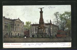 AK Hamburg-Altona, Kriegerdenkmal