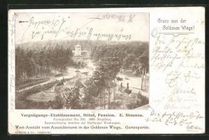 AK Hamburg-Eissendorf, Gasthaus  Zur Goldenen Wiege