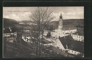 AK Schäftlarn, Blick über das Kloster
