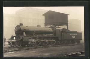 Foto-AK Lokomotive No. 767 der Southern Railway, Englische Eisenbahn