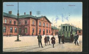AK Szabadka, Pályaudvar, Motiv vom Bahnhof