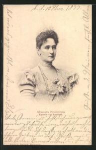 AK Alexandra Feodorowna, Kaiserin von Russland
