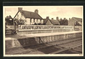 AK Llanfair, Station, Bahnhof
