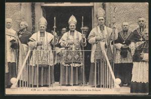 AK La Delivrande, La Benediction des Eveques