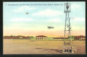 AK Albany, GA, Headquarters and Barracks, Darr-Aero-Tech Flying School