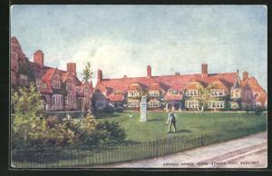 Künstler-AK Port Sunlight, Cottage homes, Bath Street
